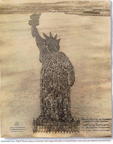 Statue of Liberty 1918