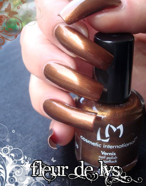 Vernis ongles automne