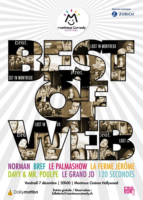 best of web affiche 2