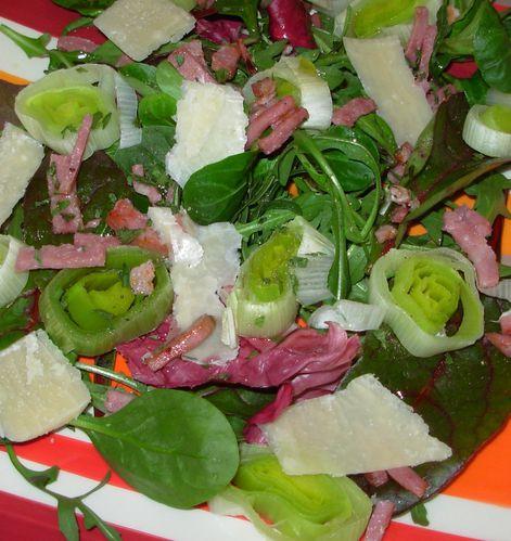 Salade tiède de poireaux4