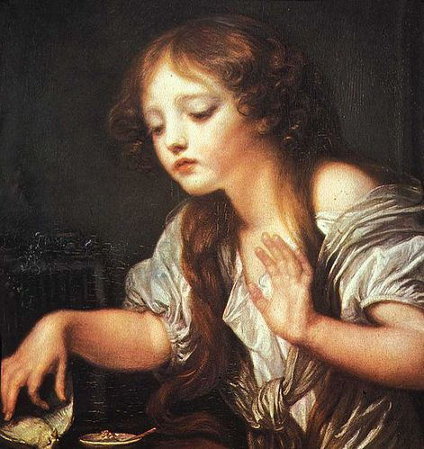 566px-Greuze- Young Girl Weeping for her Dead Bird-1759