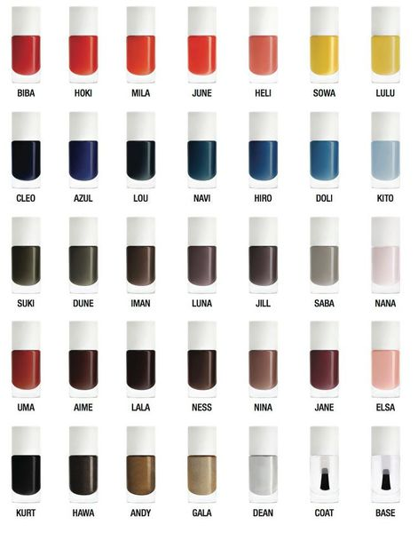 Nailmatic colors