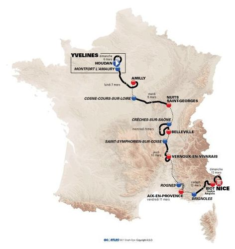 1103 Paris-Nice map