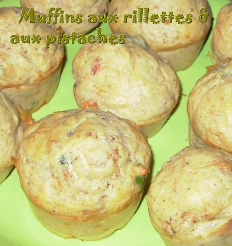 Muffins rillettes & pistaches3
