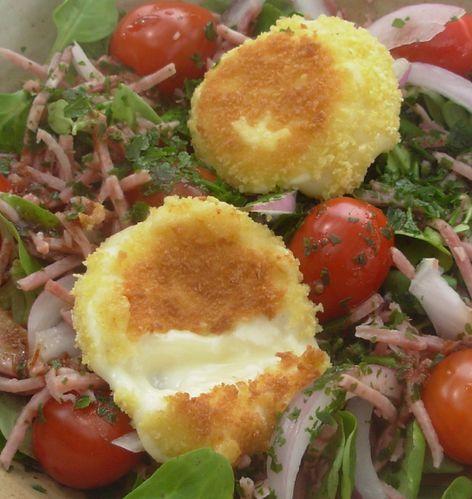 Salade de babybel panés4