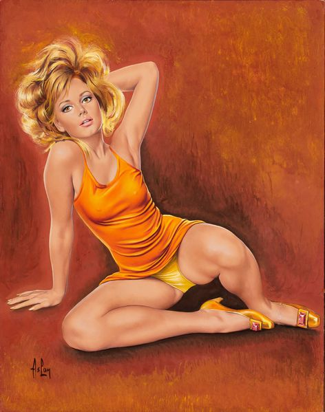 ASLAN--French--b.-1930-Blonde-Pin-Up.jpg