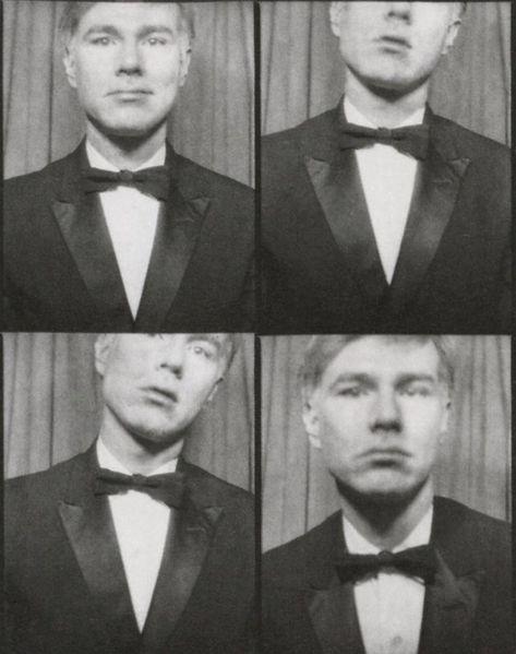 Warhol Andy 1964 Autoportrait