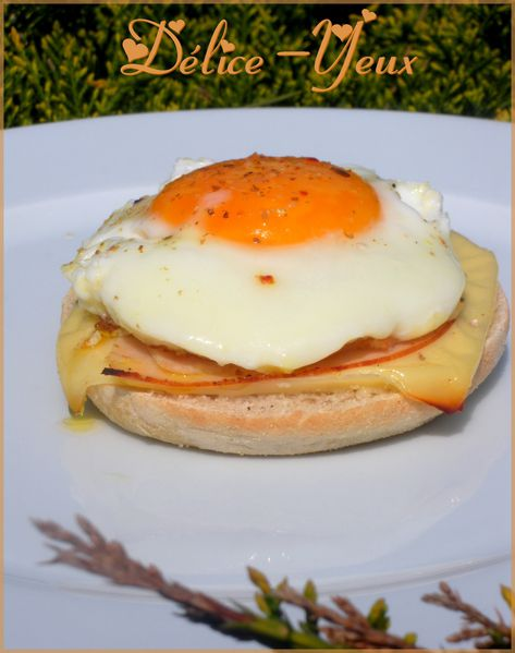 Croque madame revisité