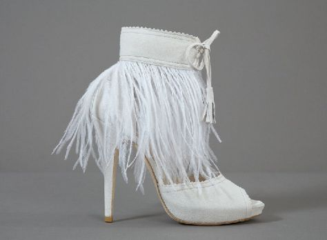 bottines-franges