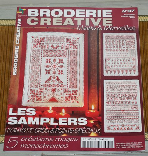 samplers broderie créative