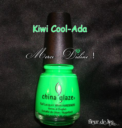 China Glaze Kiwi Cool Ada