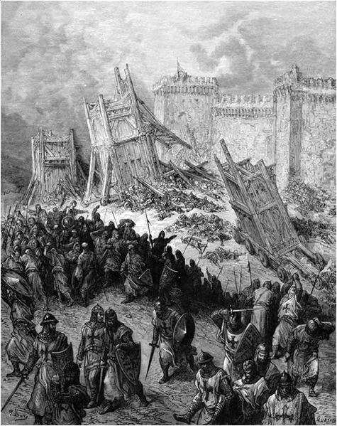 The Crusaders leave the battlefield disappointed after twel