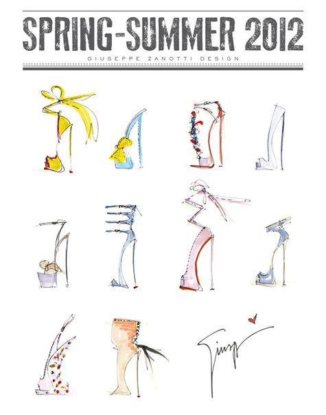 zanotti shoe summer 2012