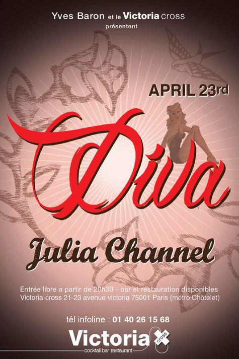 diva julia channel