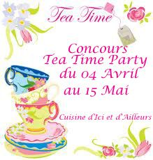 Concours Tea Time Party - 04 Avril au 15 Mai