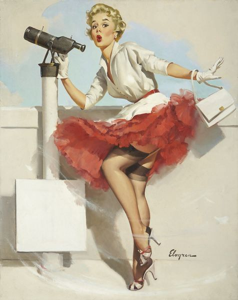 GIL-ELVGREN--American-1914---1980-.-What-a-View--1957.jpg
