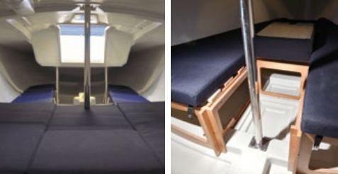 fiche bateau bavaria b one entr e r ussie sur le march. Black Bedroom Furniture Sets. Home Design Ideas