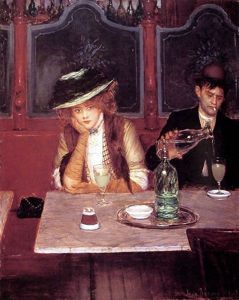 RESTO The Drinkers, by Jean Beraud