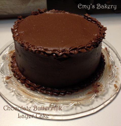 Choco buttermilk
