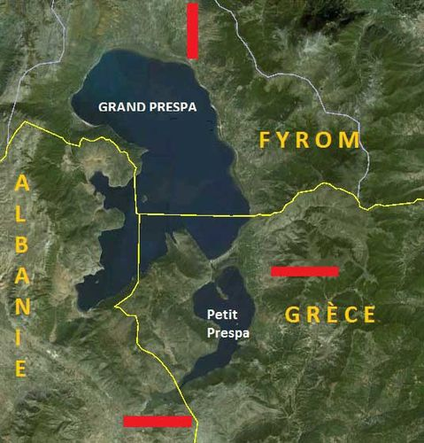 825a Prespa sur Google Earth