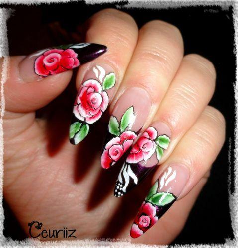 roses one stroke
