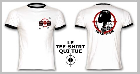 tee shirt Sb le Sniper target bullet