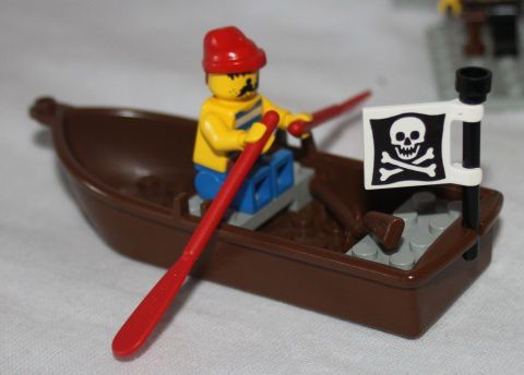 LEGO Pirate 6285 Black Seas Barracuda 04