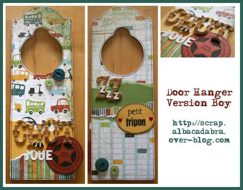 Door Hanger Kit Novembre