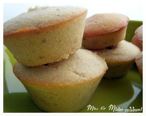 muffins crème de marrons