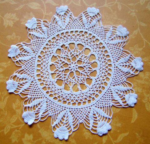 ������� ����� ������ ��������� Napperon-crochet-den