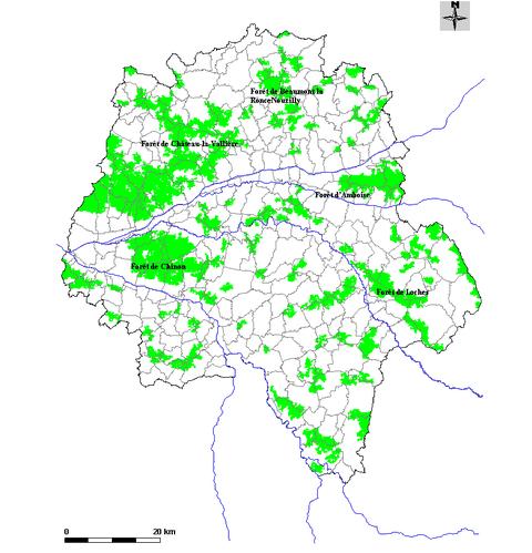 Forêts Touraine