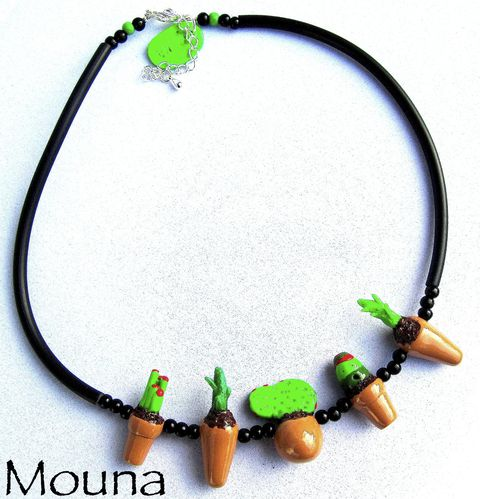 Collier Cactus 4 DISPONIBLE: 27 euros.