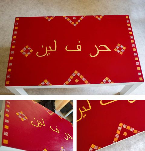 montage table
