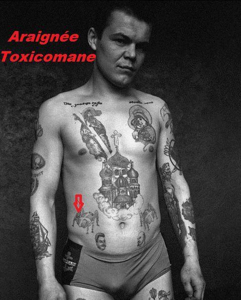 Tatouages russes 2