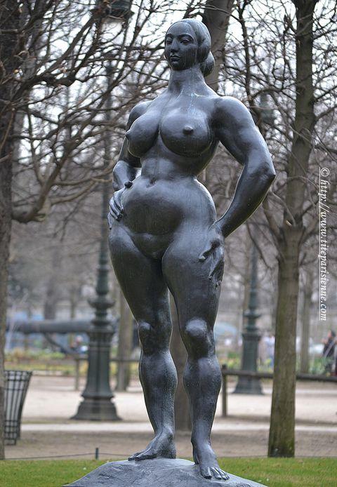 9 mars 2012 Statue jardin des Tuileries 1