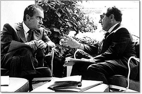 nixon y kissinger