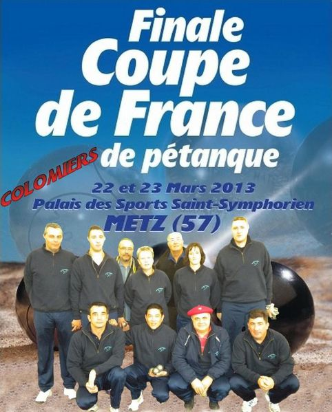 Colomiers France  City pictures : COUPE de FRANCE avec COLOMIERS 31 Pétanque en Comminges