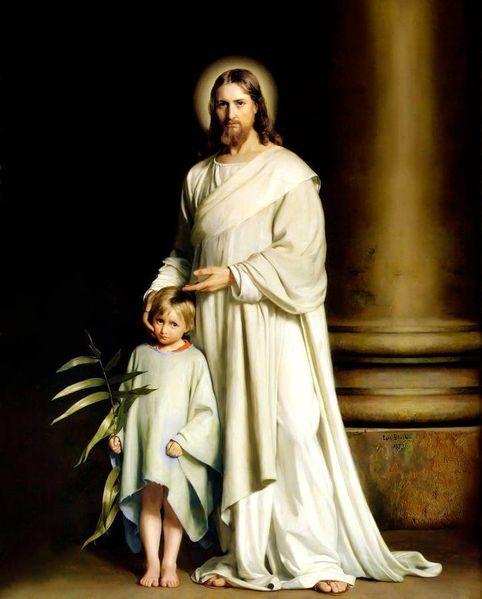 Christ-et-enfant-Carl-Heinrich-Bloch-parousie.over-blog.fr.jpg