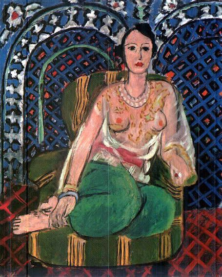 Odalisque assise1