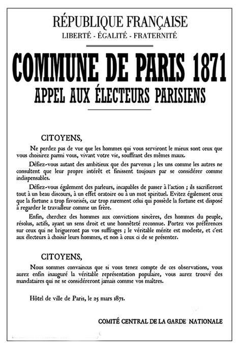 affiche election commune