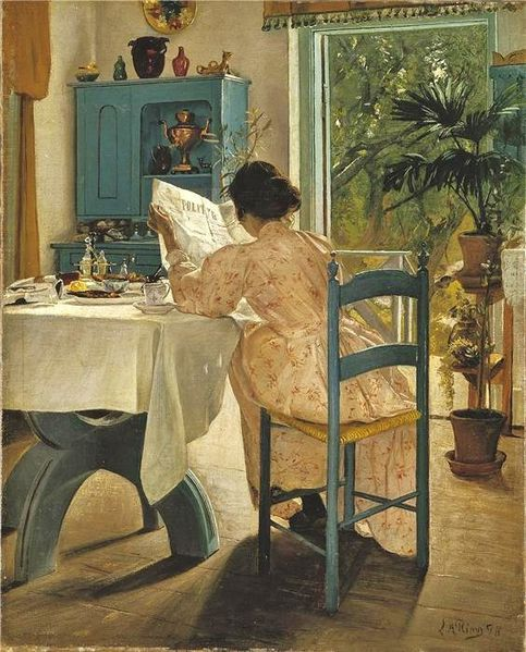 Laurits Andersen Ring Reading 1898