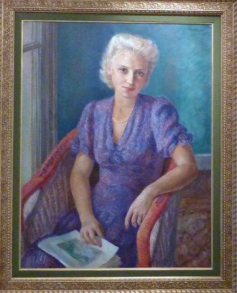 44 - Portrait de femme 1942