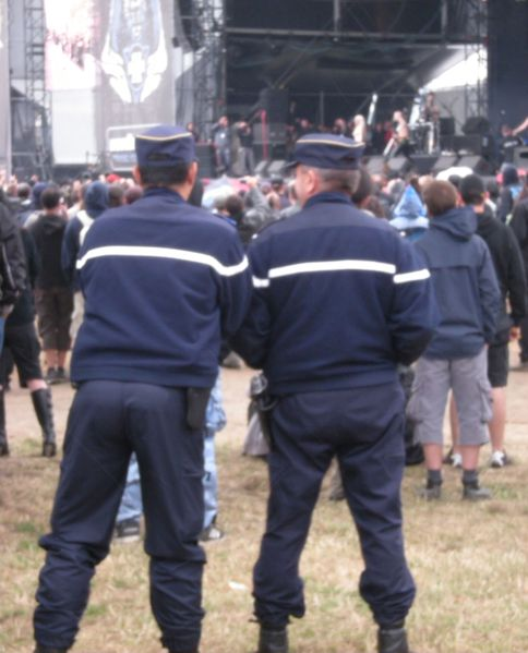 gendarmes au hellfest