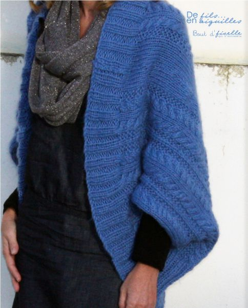 modele pull tricot aiguille 8