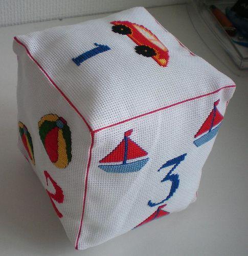 cube brode par fofie
