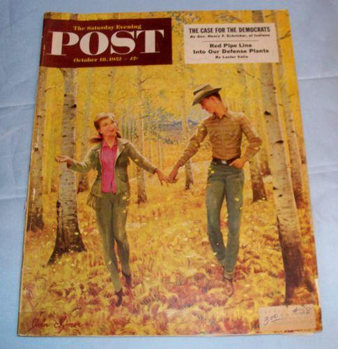HISTOIRE 951 saturday post 1952