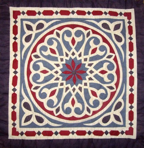Egyptian applique Jane Rollason