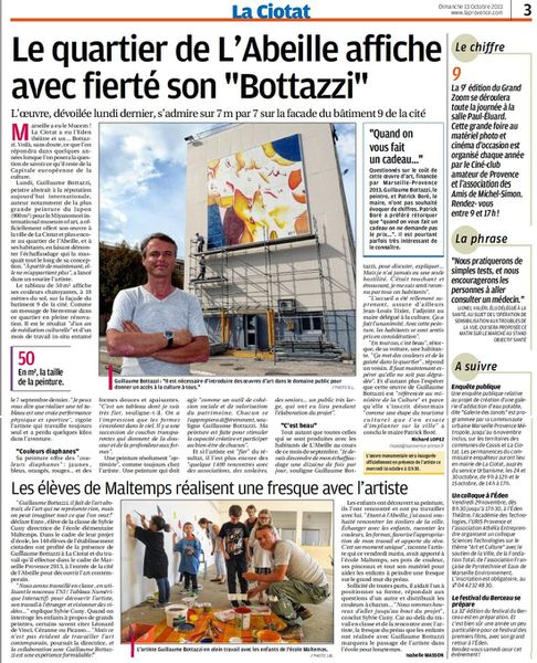 Bottazzi Par Le Journal La Provence Blog Guillaume