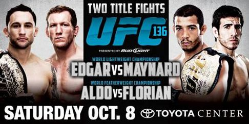 UFC 136: Edgar vs Maynard