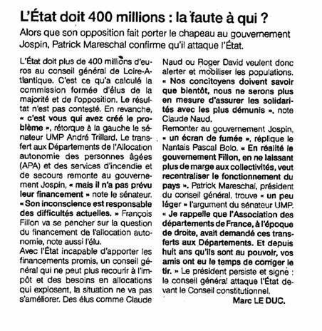 Ouest France 25-06-2010